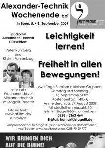 Alexandertechnik-Workshop in Bonn