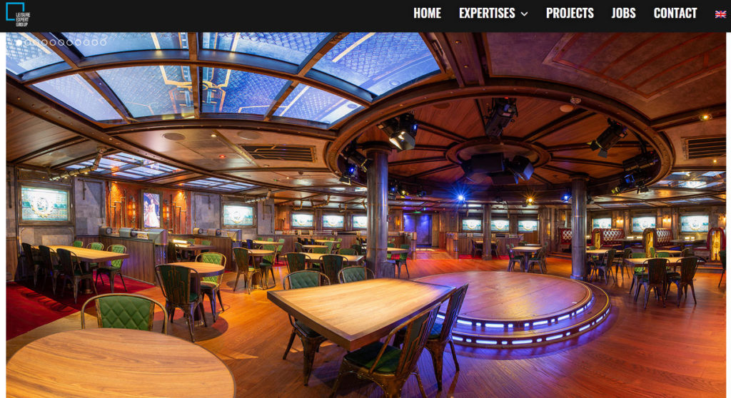 Anblick Time Machine Restaurant auf AIDA nova auf der Leisure-Expert-Homepage